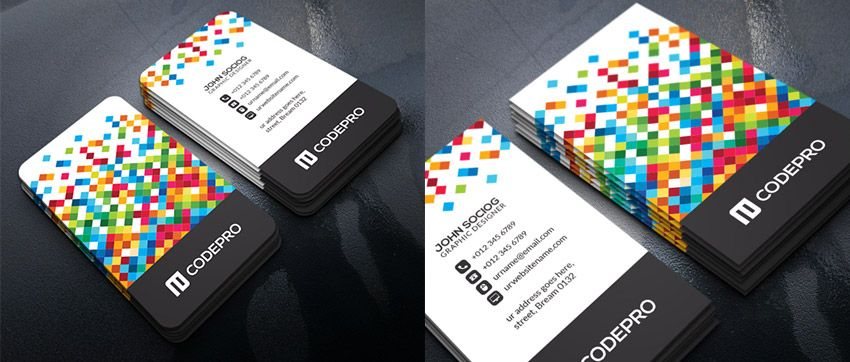 Unique Business Card Template Business Cards Pinterest