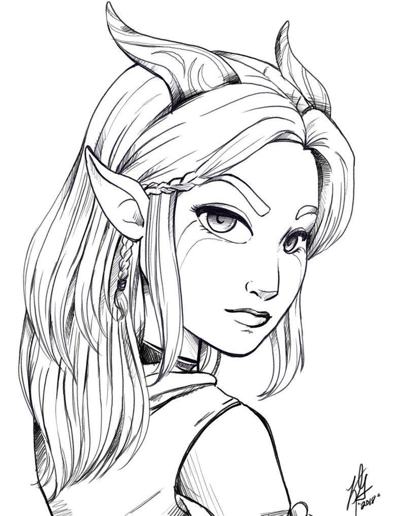 Rayla Sketch By Pumpkinrogue Rayla Dragon Prince Sketches Fairy Art