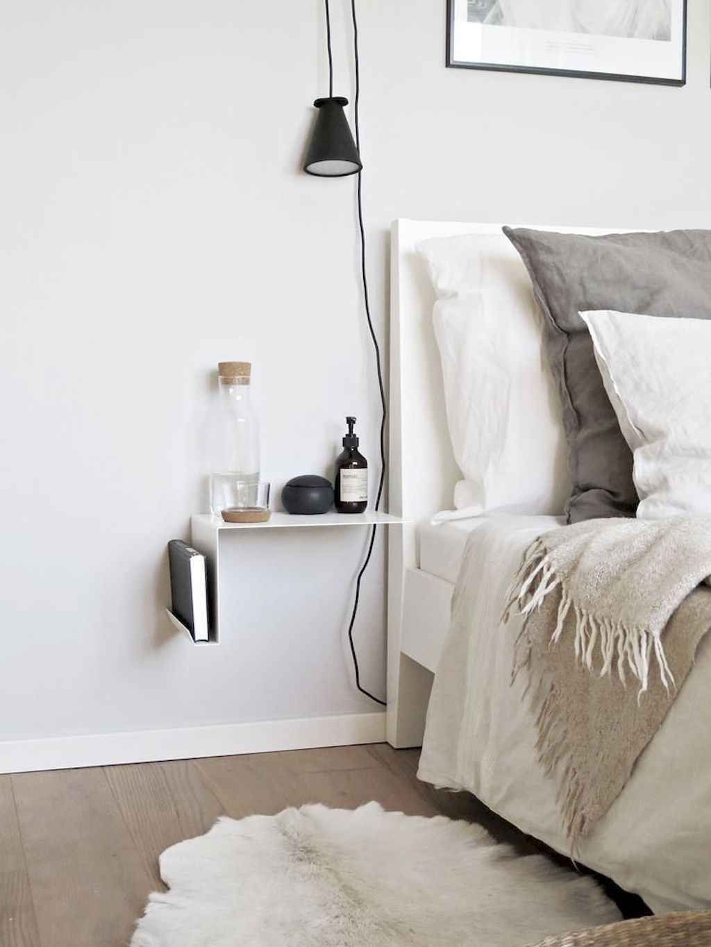 70 Cozy Minimalist Bedroom Design Trends - Gladecor.com
