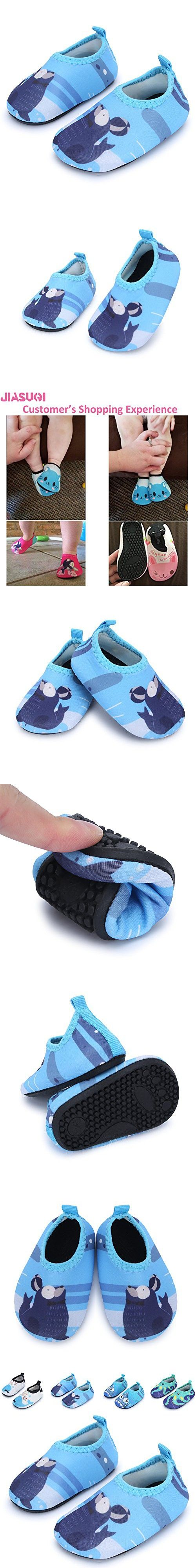Baby and Kids Athletic Sneakers Barefoot Water Shoes for Beach Swim