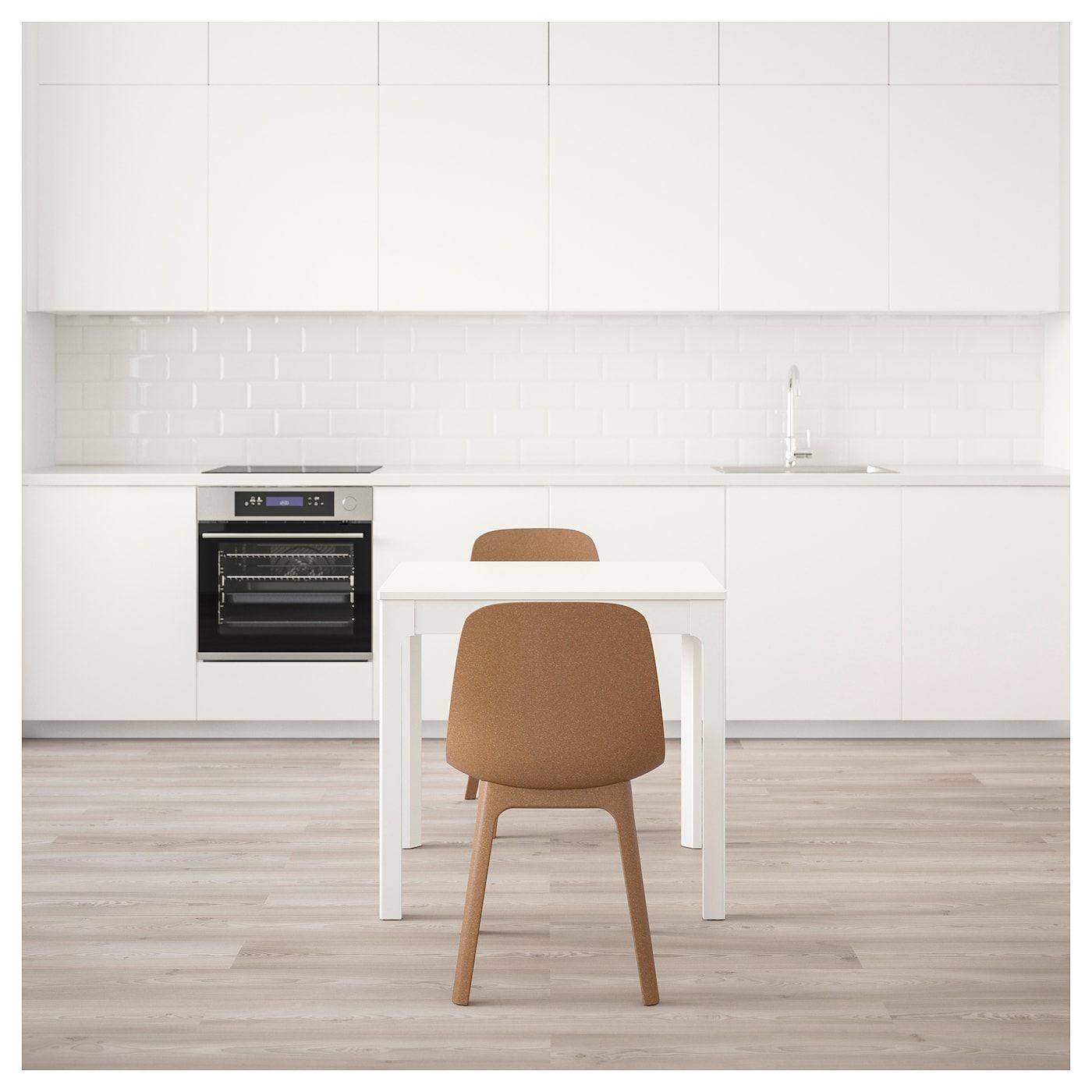 Ekedalen Odger Tisch Und 2 Stuhle Weiss Braun Weisse Stuhle