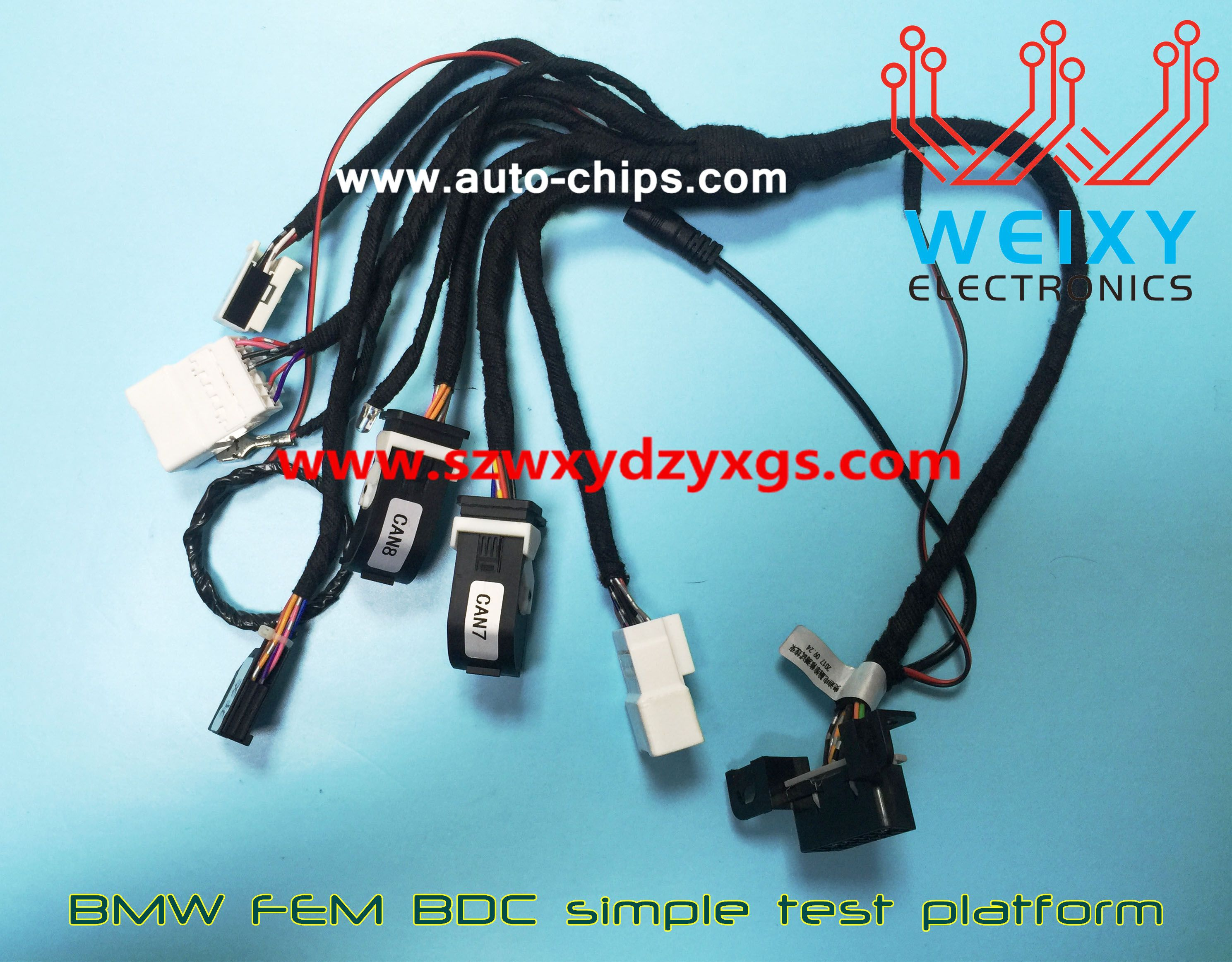 BMW FEM BDC simple test platform, An excellent tools for making keys ...