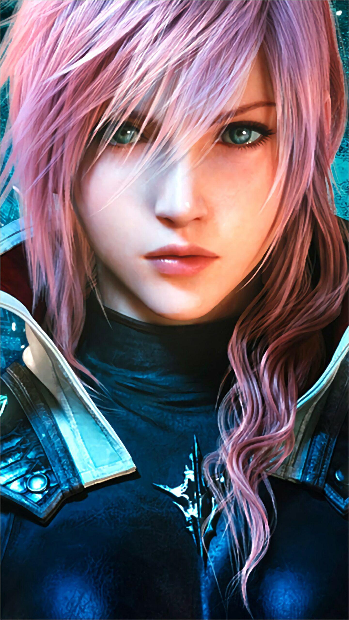 Lightning Final Fantasy Wallpaper 4k in 2020 | Lightning ...  Final Fantasy Female Characters Wallpaper