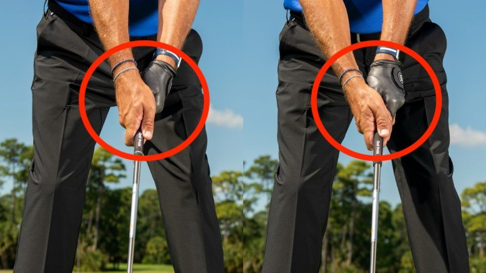 how to hold a golf club when driving