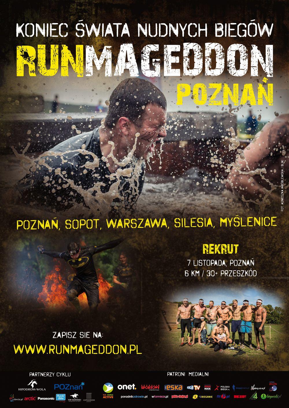Runmageddon Hipodrom Wola Centrum Wyszkolenia Jezdzieckiego Mud Race Centrum Obstacle Race