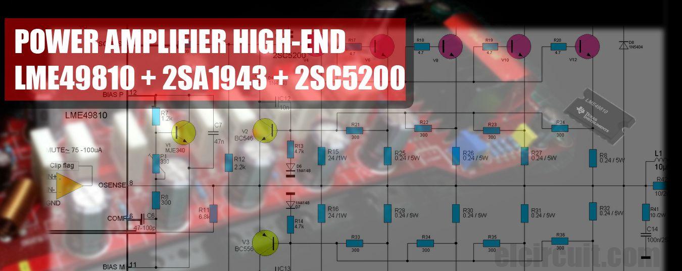Power Amplifier Ocl 35w Electronic Circuits Schematics Diagram