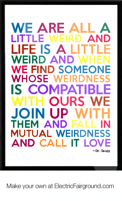 Dr Seuss Framed Quote Kid Crafts Pinterest Quotes Dr Seuss