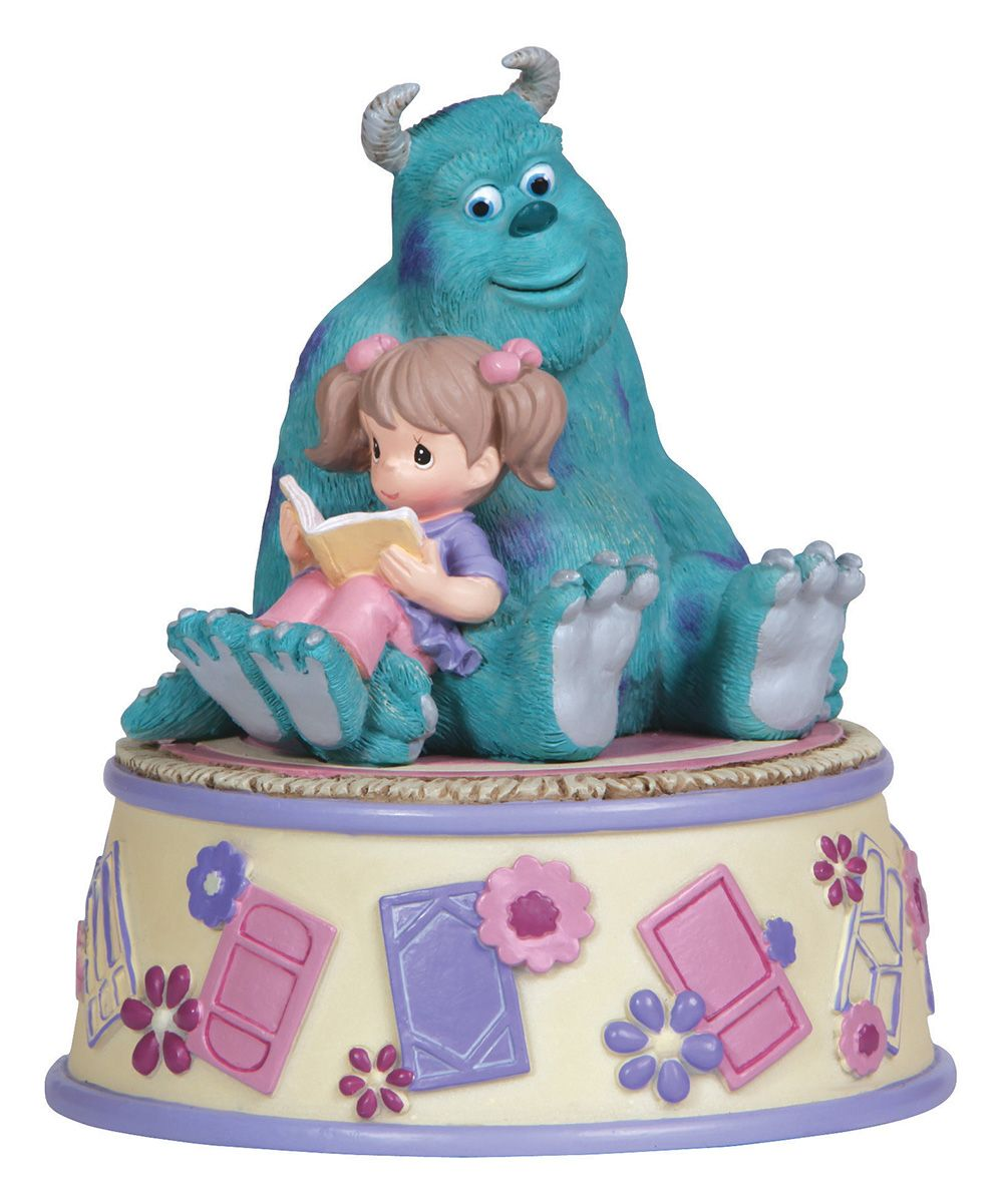 Girl Reading Sully Musical Figurine