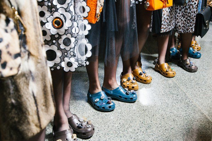 Here's a Closer Look at Christopher Kane's Catwalk Crocs