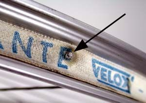 Are you getting recurring flats?  Check your rim tape - here are the basics.