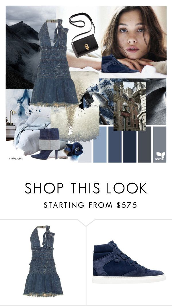 """""""Sweet girl ... !"""" by katelyn999 ❤ liked on Polyvore featuring Chloé, Balenciaga, Christian Louboutin, CasualChic, polyvoreeditorial and DenimStyle"""