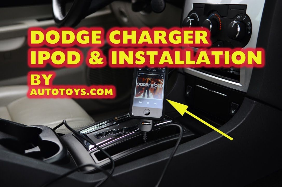 Update Dodge Caravan And Dodge Caravan Usb Iphone Dodge Charger Ipod Mp3 Aux With Isimple Isch73 Installation By Autotoys At N Dodge Charger Charger Dodge