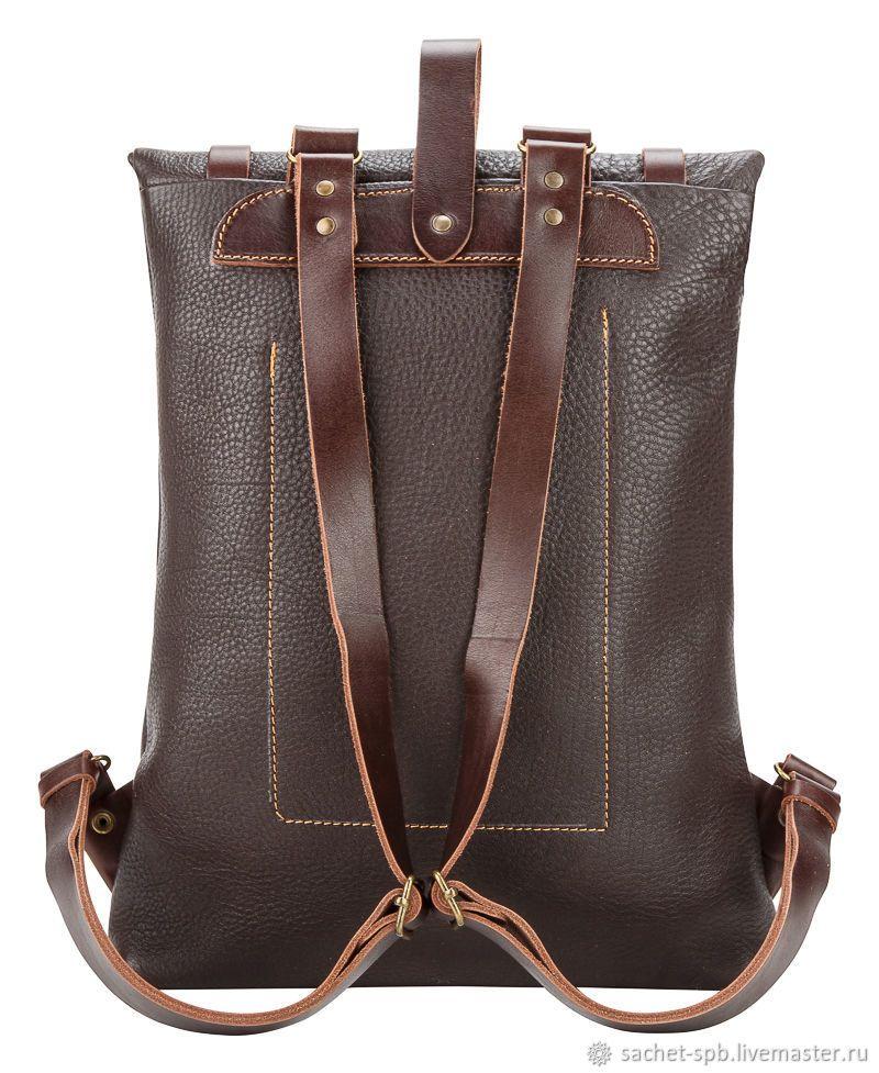 8a0b3ce8696d Рюкзаки ручной работы. Кожаный рюкзак