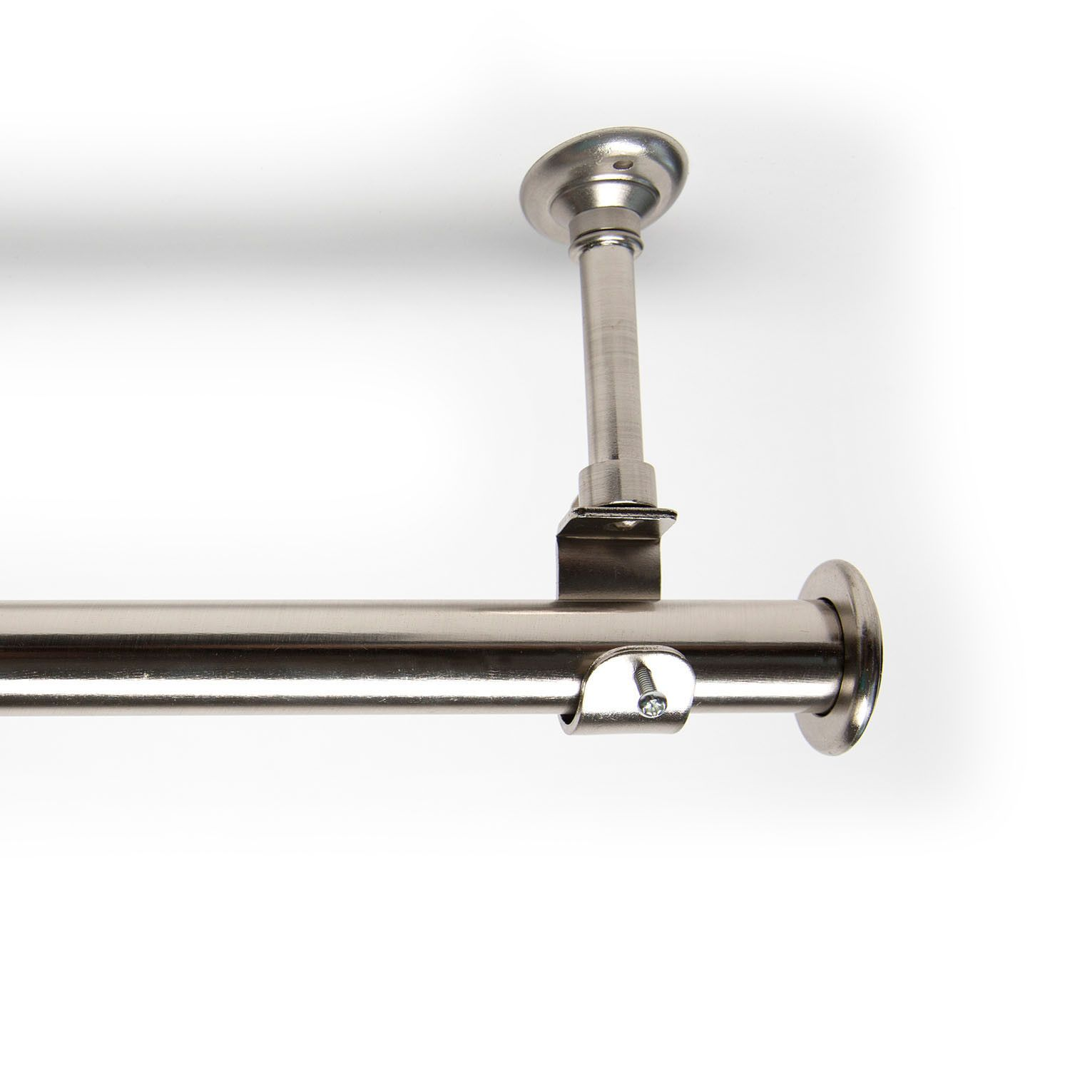Hanging Single Curtain Rod And Hardware Set Hanging Curtain Rods