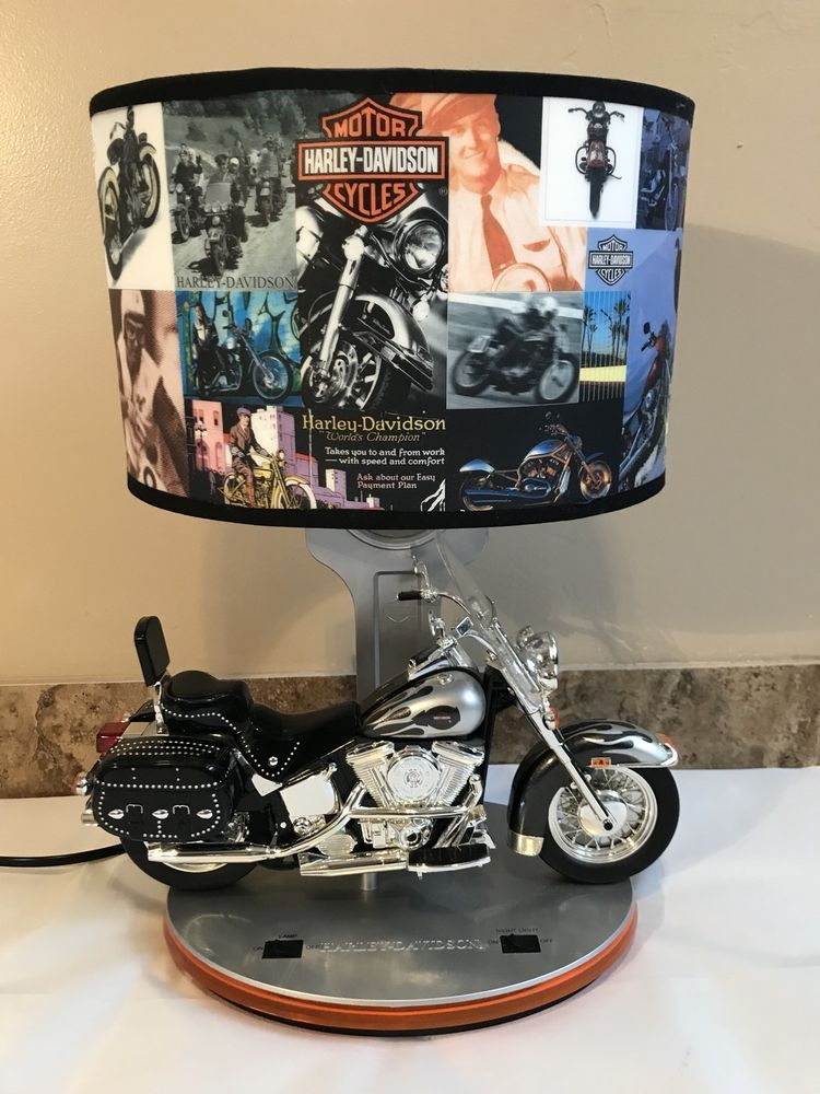 Harley Davidson Desk Lamp Heritage Softail Desk Design Ideas