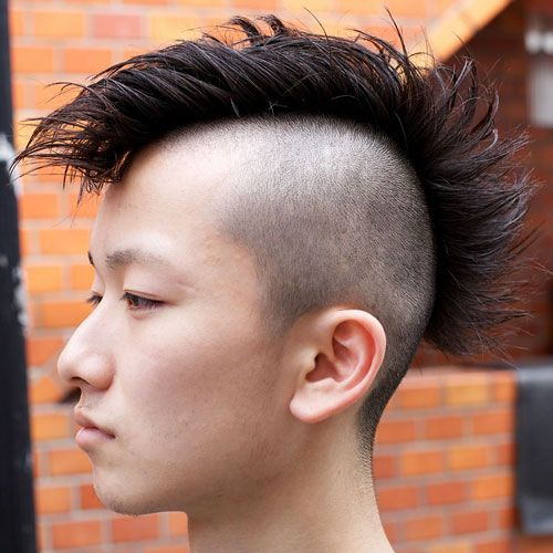 35 Best Mohawk Hairstyles For Men 2020 Guide Mohawk Hairstyles Men Asian Men Hairstyle Mens Hairstyles