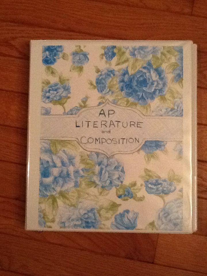 Ap Lit And Comp Binder AP Lit Comp High School
