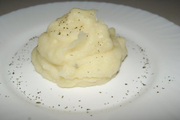 Receta de Puré de patatas fácil