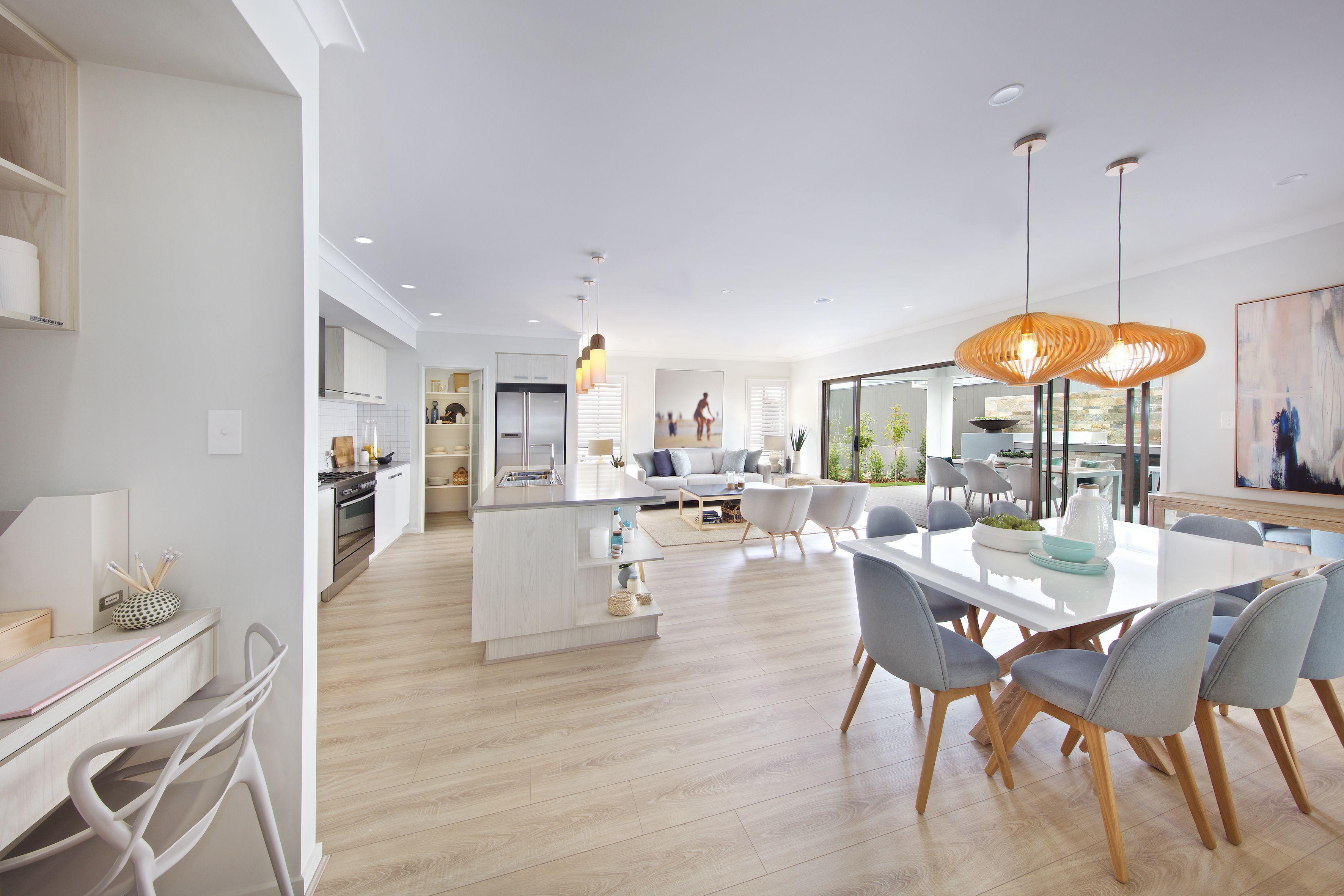 Clarendon Homes Brighton 30 Open plan living with hampton s