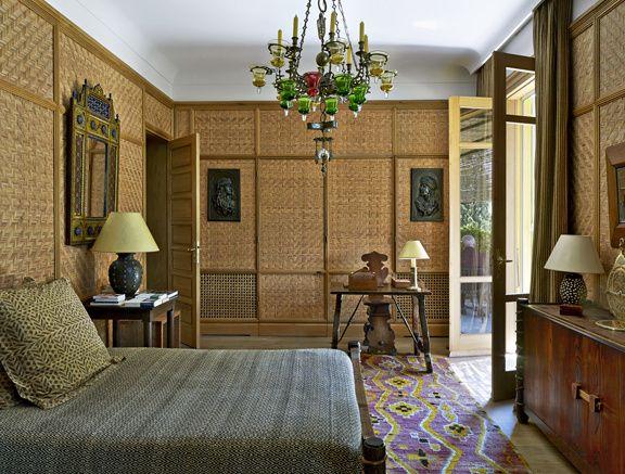 A Tanger Le Jardin Secret De Pierre Berge Chambres Tropicales Interieur De Chambre Chambre Contemporaine