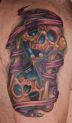 Tattoo By Matthew Amey: Skull Tattoo, Tattoos, Skull Tattoos