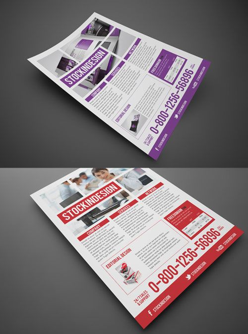 InDesign Multipurpose Business Flyer | Free InDesign Templates ...