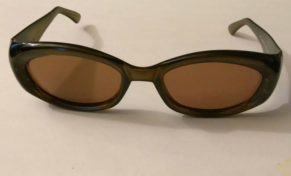 Gucci Vintage Women Men Brown Sunglasses GG 2435/S