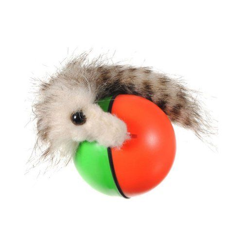 Absolute Pet Cat Dog Toy Rolling Jumping Crazy Weasel Chaser