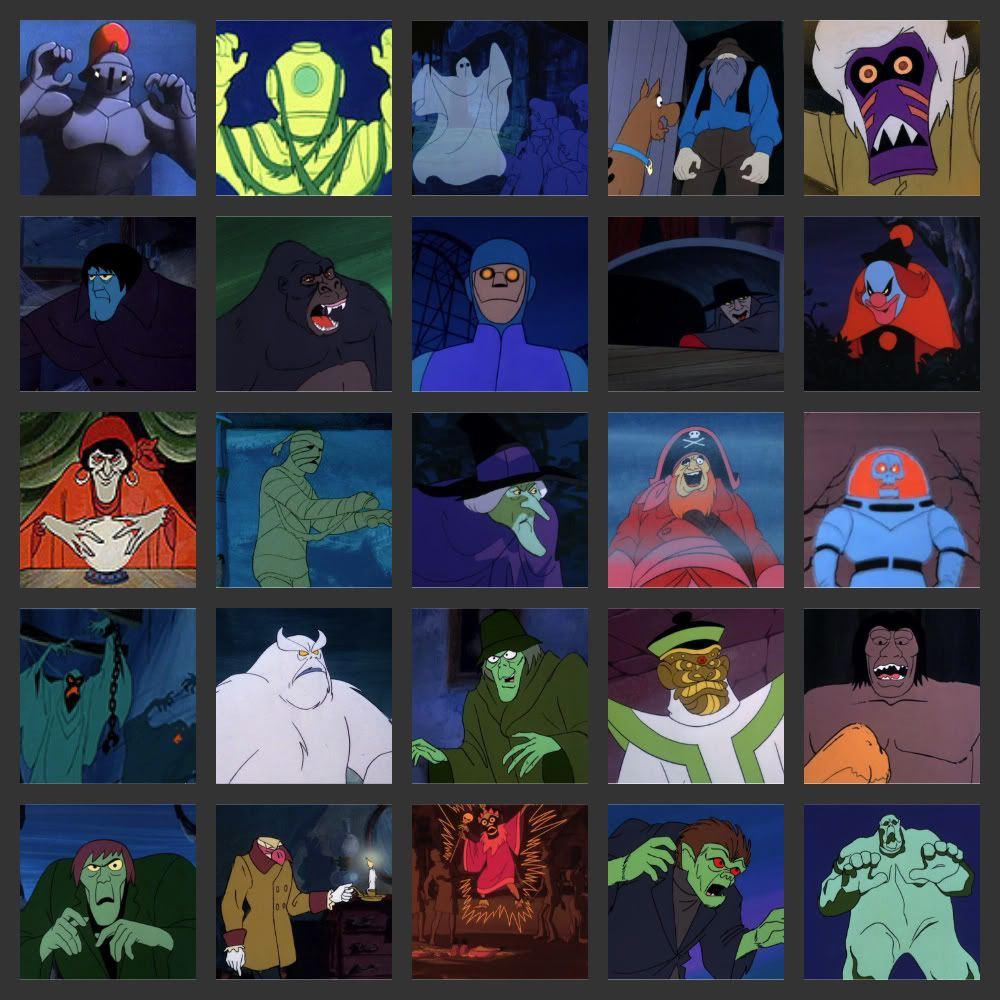 Can You Name The Scooby Doo Monsters Scooby Doo Halloween Party Scooby Doo Costumes Scooby Doo Halloween