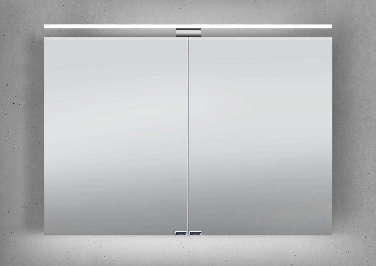 Badezimmer design beleuchtung spiegelschrank  cm led beleuchtung doppelseitig verspiegelt jetzt