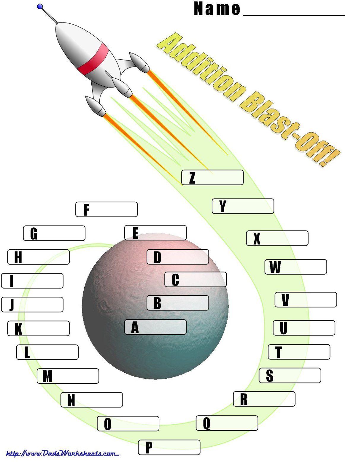 Math Worksheets Spaceship Math Check Off Spaceship Math
