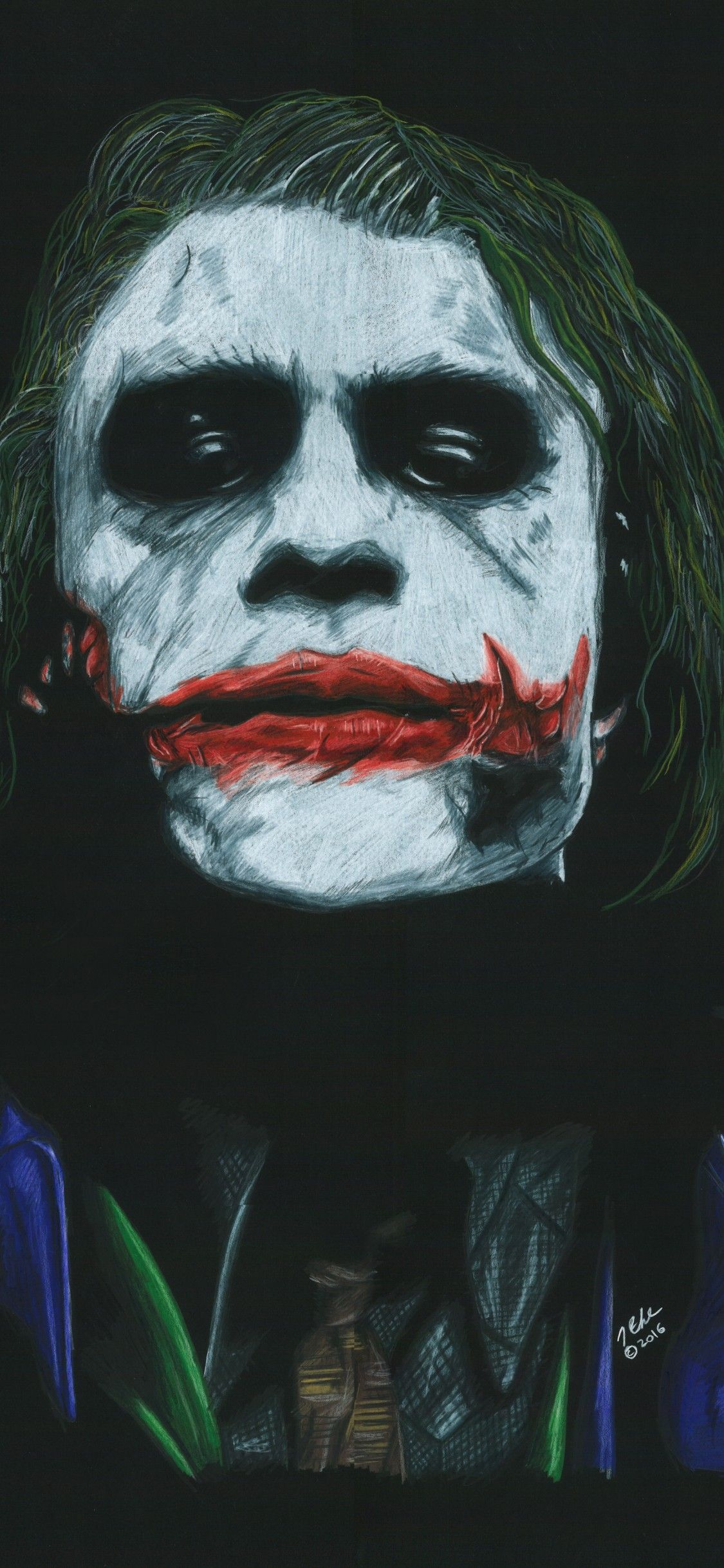 Joker Batman 4k Mobile Wallpaper Hd Wallpaper