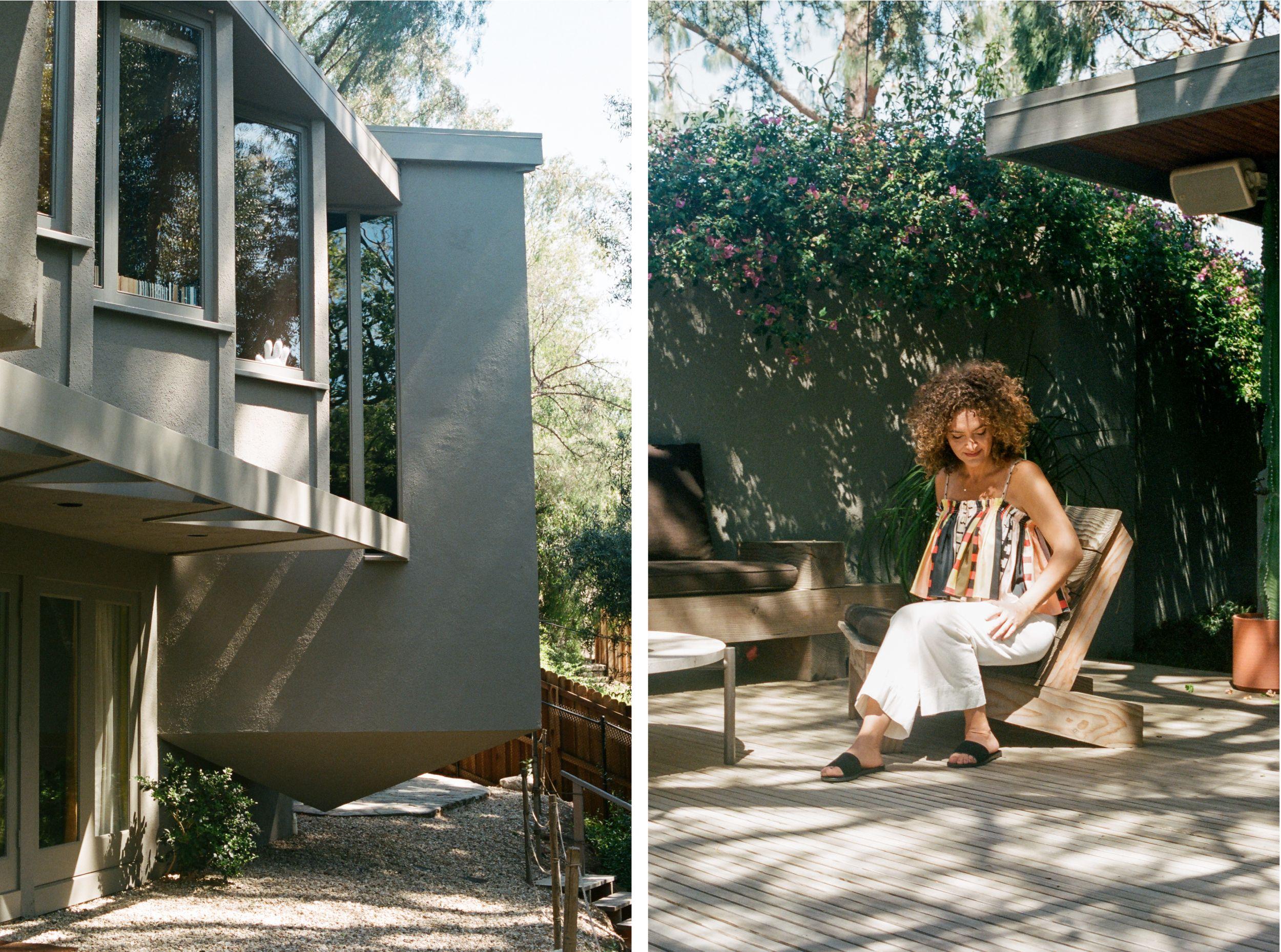 Apiece Apart Woman Pamela Shamshiri Women Exterior Paint Colors