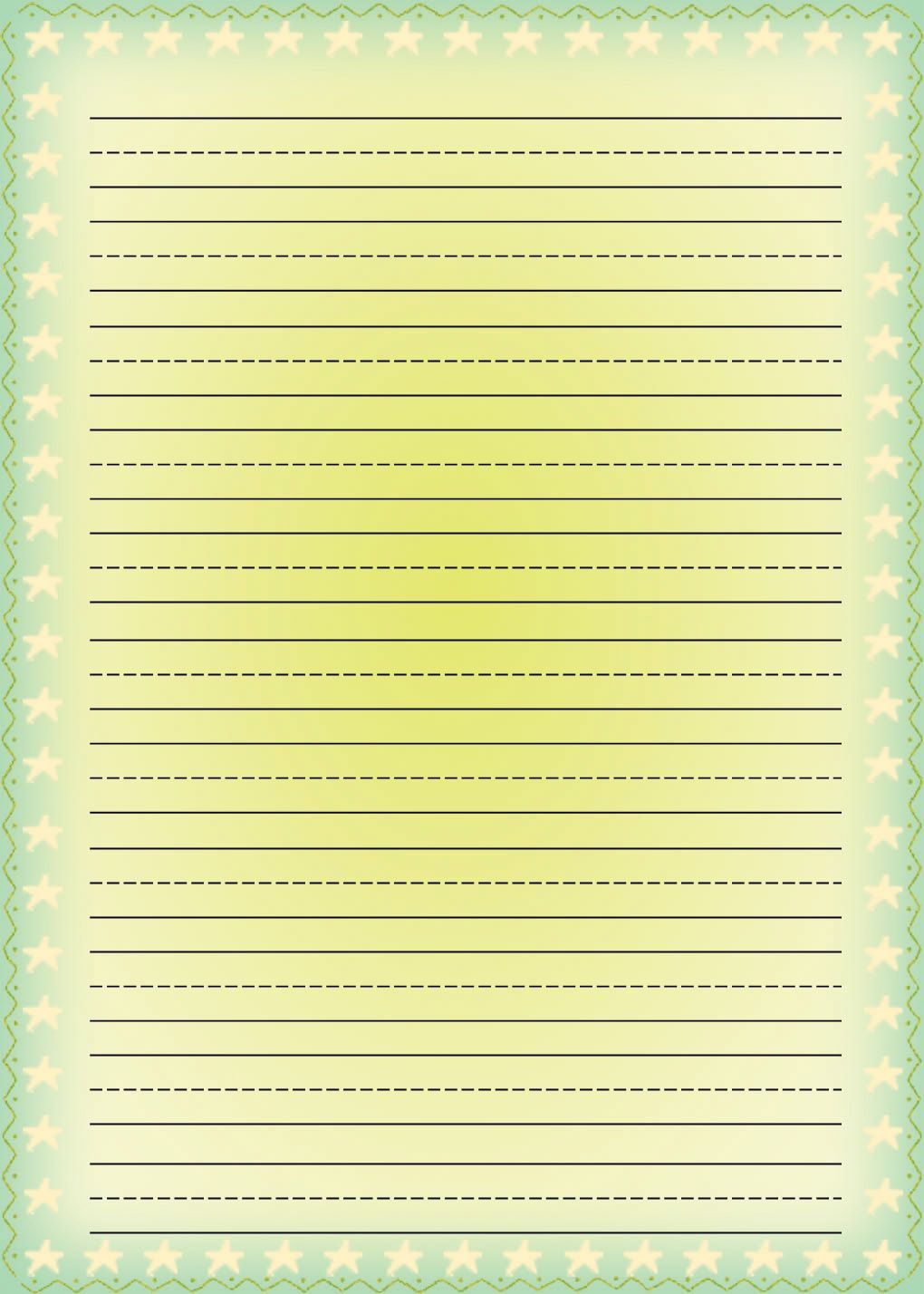 Free Printable Stationery For Kids Free Lined Kids Writing Paper Writing Paper Writing Paper Template Free Printable Stationery Printable writing paper for toddlers