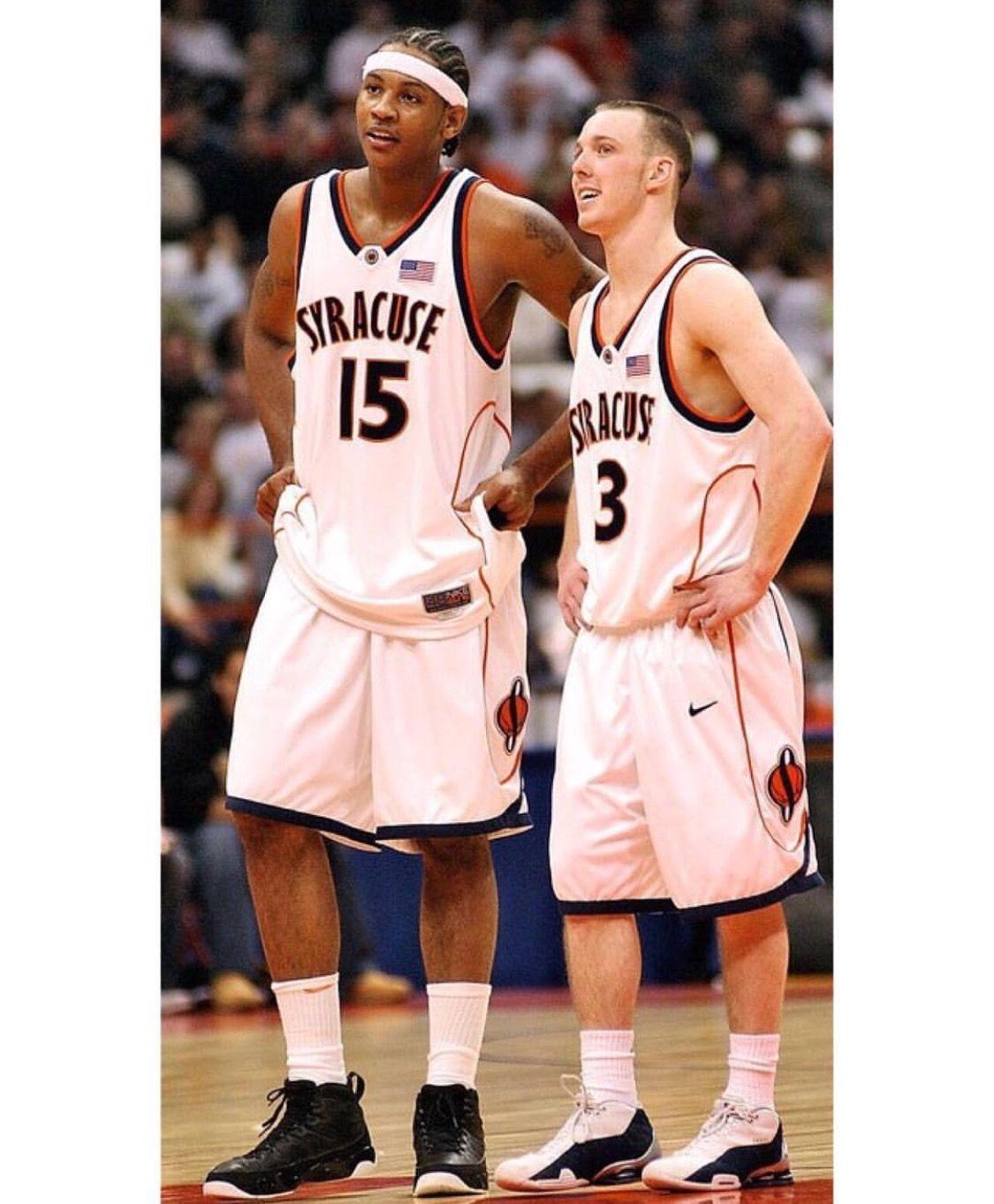 Carmelo Anthony Gerry Mcnamara Great Syracuse Team Syracuse Basketball Basketball Legends Best Basketball Shoes