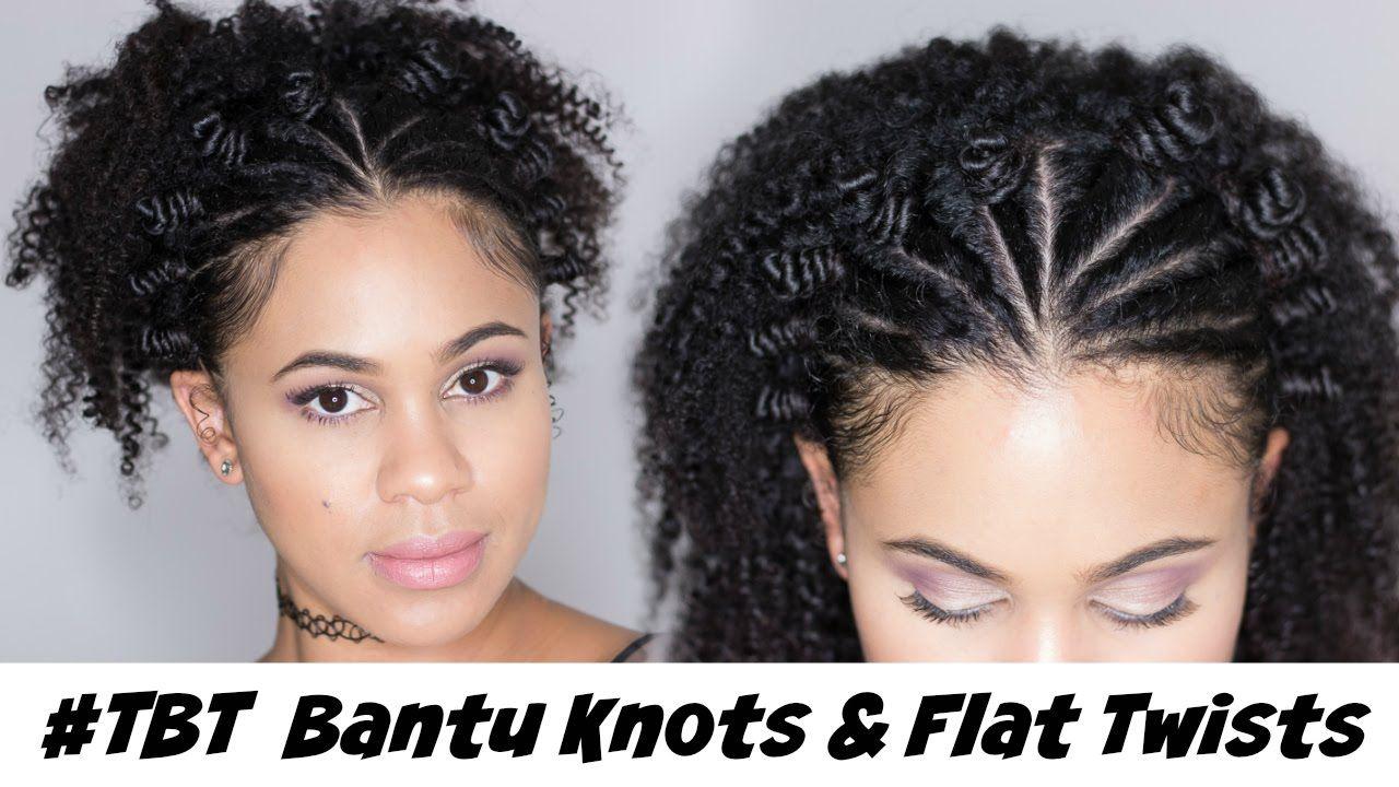 Natural Hair Styles Bantu Knots: Black Hairstyles Knot Twists