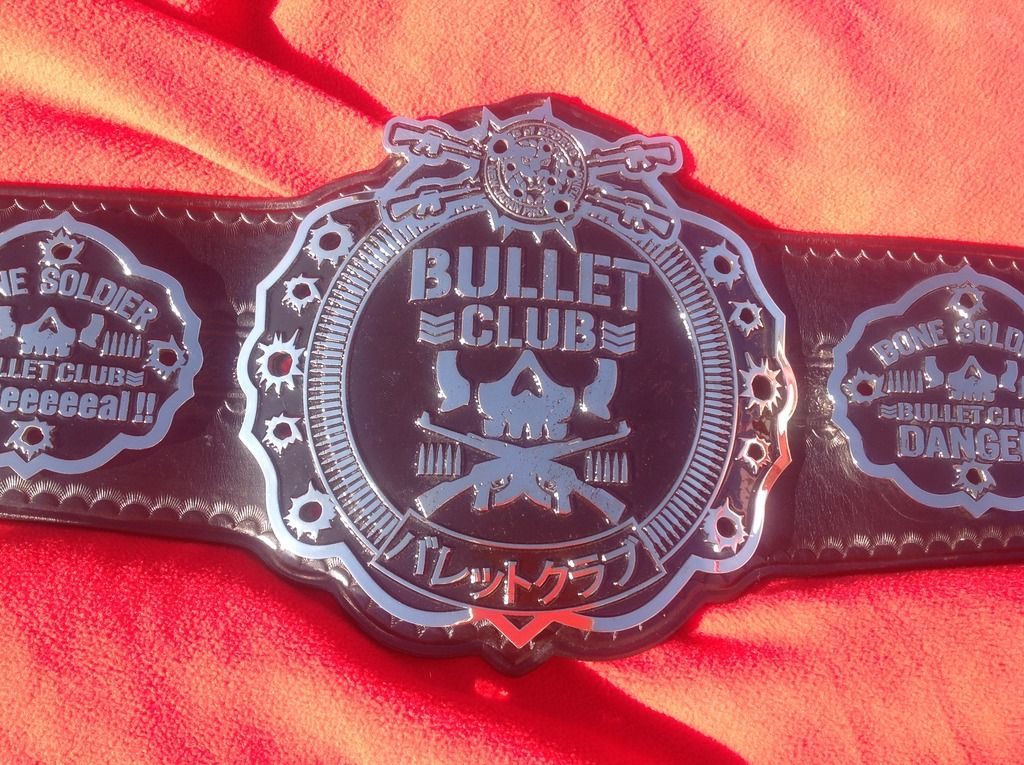 Image result for bullet club belt