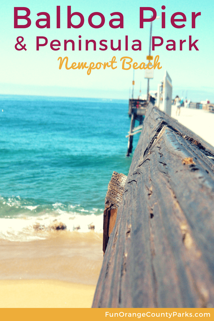 Balboa Pier And Peninsula Park In