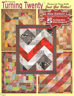 TURNING TWENTY.. AGAIN Fat Quarter Quilt Pattern Book FriendFolks FF111