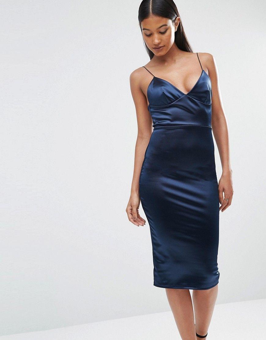 Club l blue dress prom