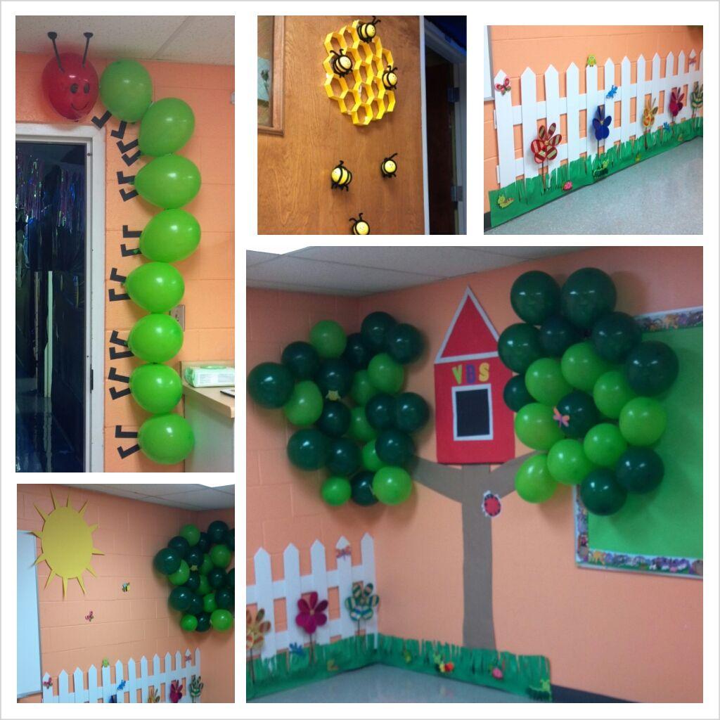 God's Backyard VBS Room Decorations