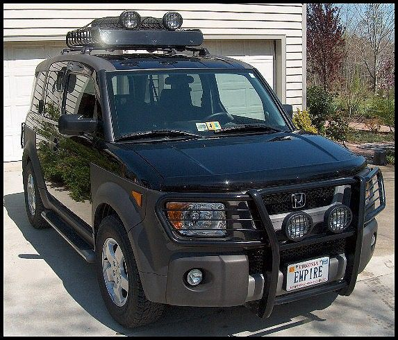 Honda Element Hunter Brush Guard Honda Element Camping