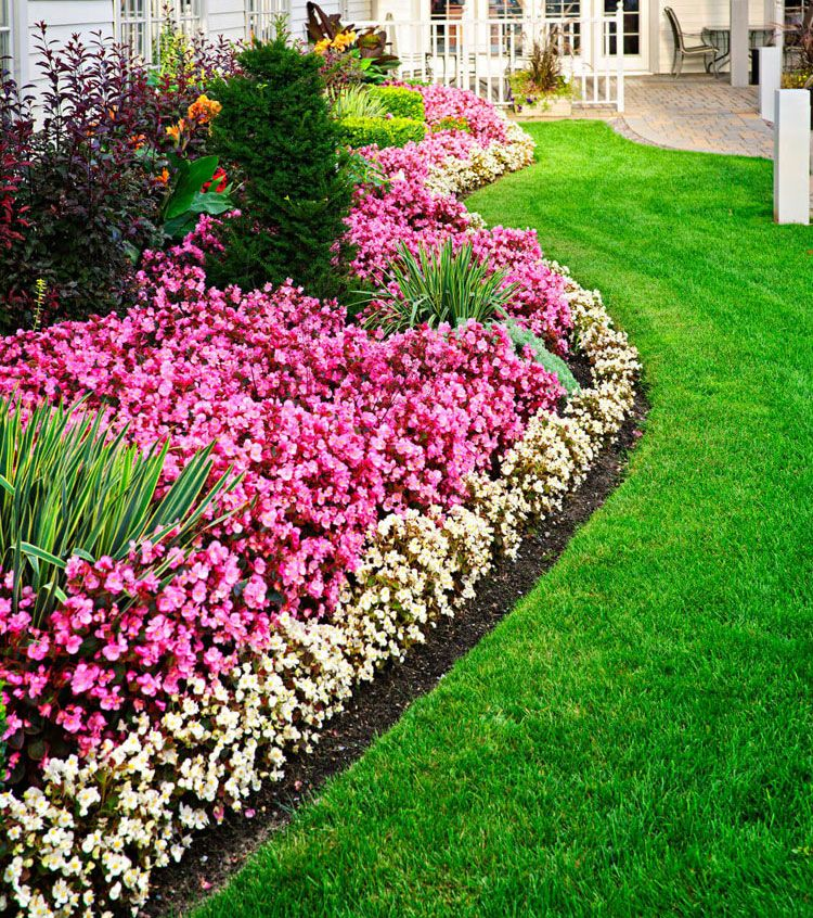 35 Best Front Yard Landscaping Ideas With Scenic Designs Best Home Ideal Outdoor Garden Decor Front Yard Landscaping Simple Front Yard
