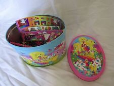 BRAND NEW LISA FRANK EASTER TIN COMPLETE W/STICKERS~PENCILS~NOTEBOOK~PEN~STAMP++