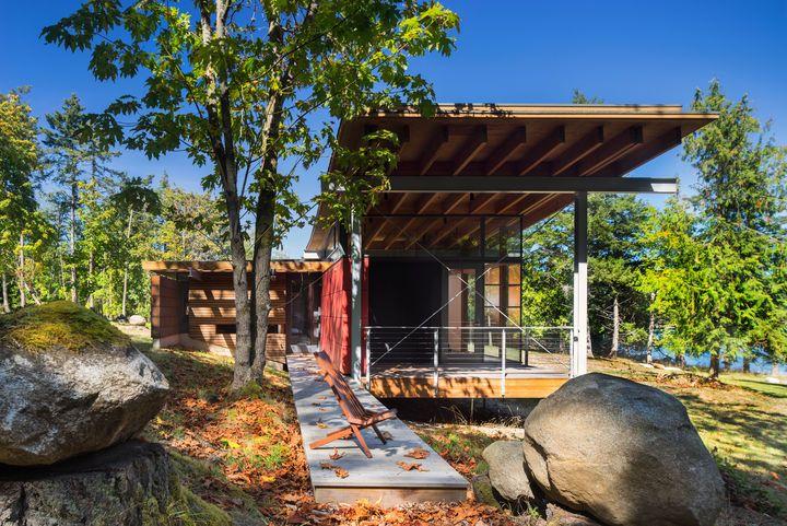 Bohlin Cywinski Jackson ArchitectsSeattleA boardwalk
