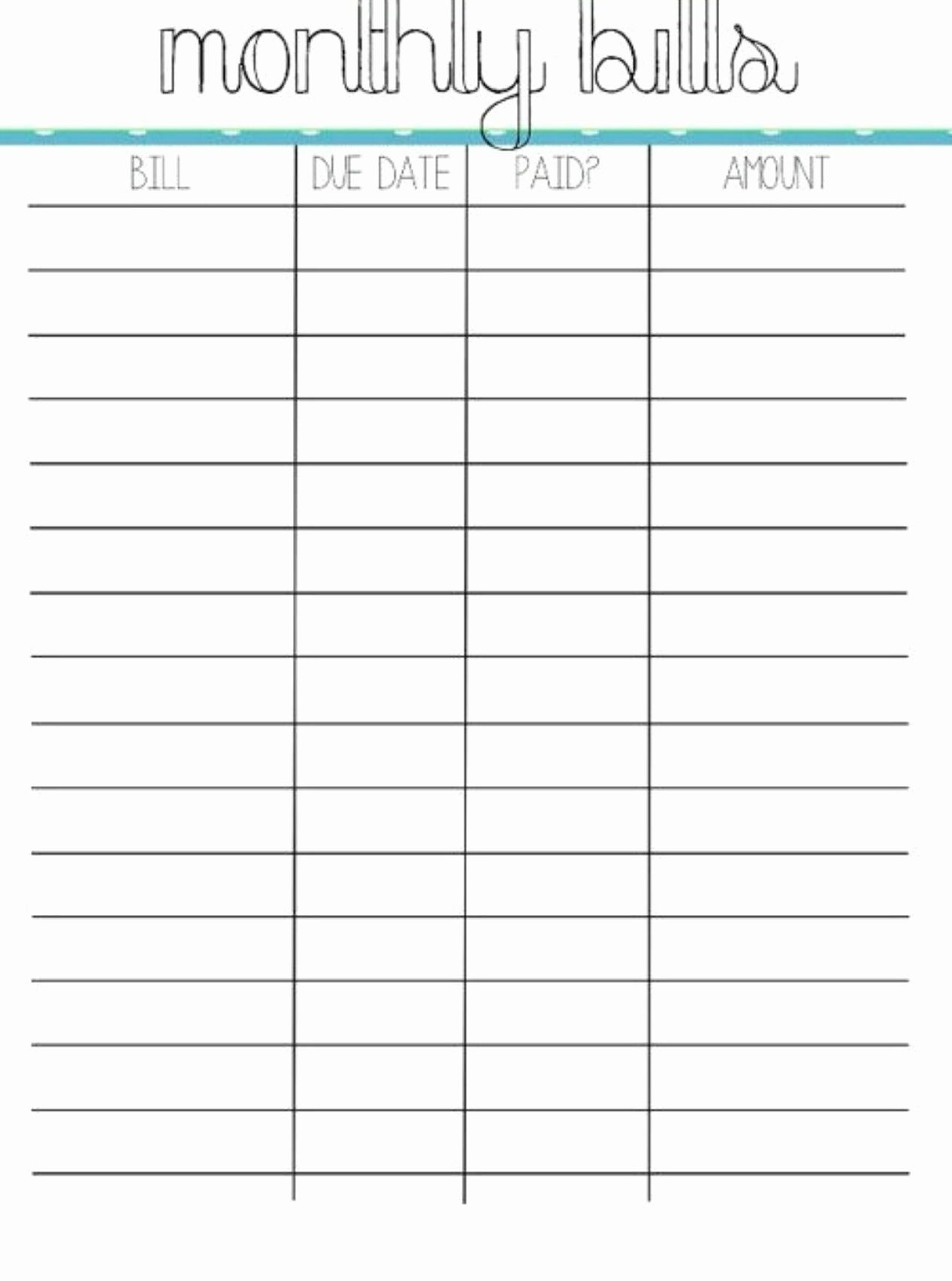 Budget Expenses Worksheet A4 Size