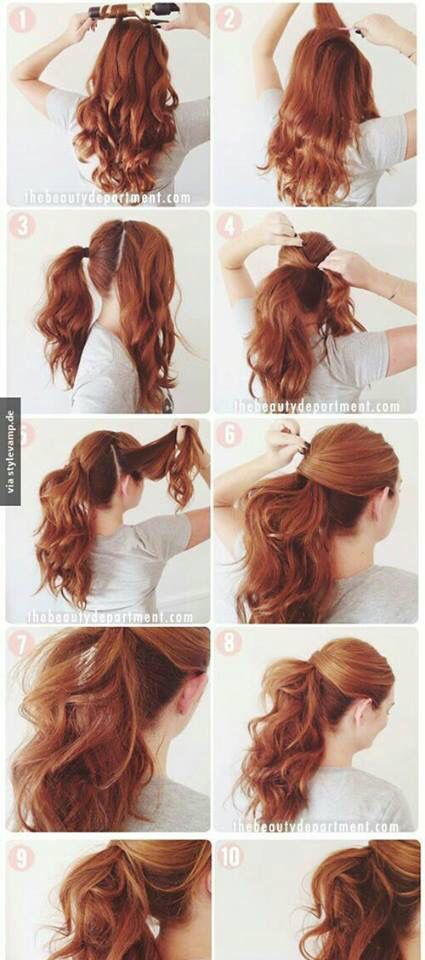 Latest Hairstyle Picture Tutorials To Make You Gorgeous Hair Styles Long Hair Styles Party Hair Tutorial