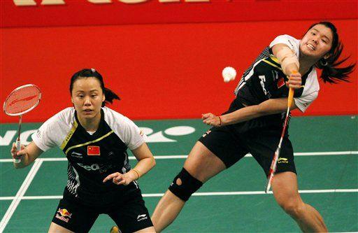Badminton Chinese Women Double