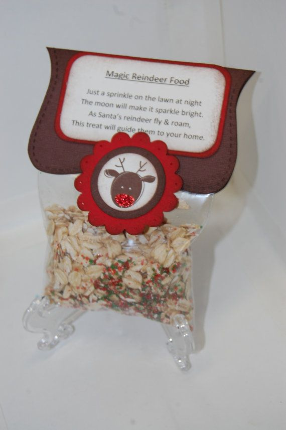 Reindeer Food To Sell At Christmas Fair Christmas Christmas