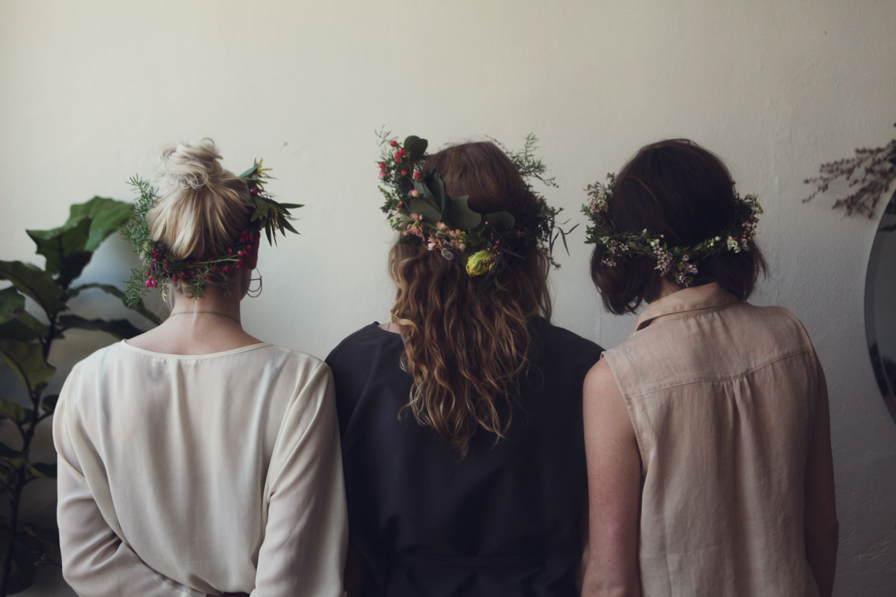 Kinfolk Flower Potluck #flowercrowns #flowers #kinfolk
